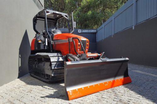 pá frontal buldozer