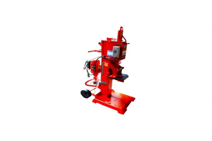 maquina rachar eletrica vertical